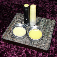 available balms: lip balm, cuticle balm, cuticle and hand repair stick